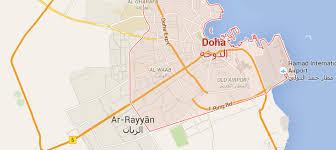 Doha Qatar Map Contact Us Visit Qatar