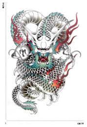 discount 3d dragon tattoo designs 2018 3d dragon tattoo designs