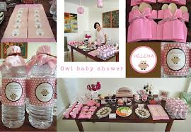 home made baby shower decorations diy owl decorations for baby shower zone romande decoration
