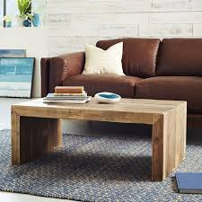 Wood Side Table Emmerson Reclaimed Wood Coffee Table West Elm