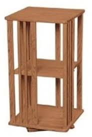Diy Bookshelves Plans by Revolving Danner Inspired Bookcase Woodworking Plan From Wood
