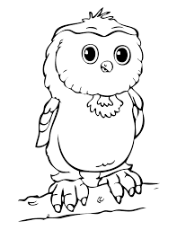 cute printable owl coloring pages for kids uniquecoloringpages