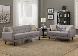 furniture transitional family room with upholstered grey tufted
