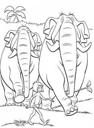 35 coloring pages lineart disney jungle book images