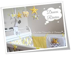 déco originale chambre bébé déco chambre garcon jaune exemples d aménagements