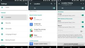 android device tracker how to manage your location history android customization