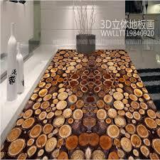 beibehang custom large fresco trees section tree rings wood 3d pvc