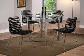 Modern Glass Square Dining Table Home Design Furniture Splendid Small Kitchen Square Dining