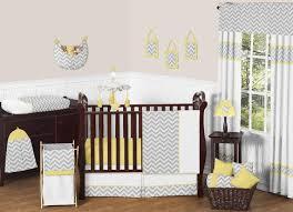 Yellow And Gray Crib Bedding Set Sweet Jojo Designs Zig Zag Yellow And Gray 11 Baby Crib