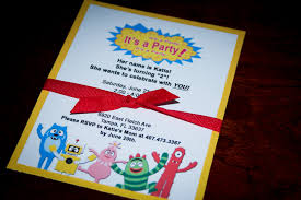 Yo Gabba Gabba Party Ideas by Yo Gabba Gabba Party Invitations Winter Wonderland Skating Best