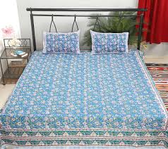 Trippy Comforters Vintage Trippy Bedsheet Indian Bed Sheets Block Printed Cotton Bed