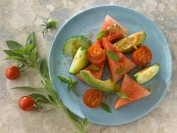 cherry tomato and watermelon salad recipe food network