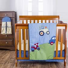 Mini Portable Crib Bedding On Me Travel Time 5 Pc Reversible Portable Crib Set