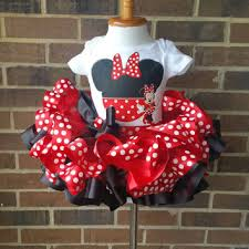 Buy Glam Red Minnie Costume by Best Minnie Mouse With Tutu Products On Wanelo