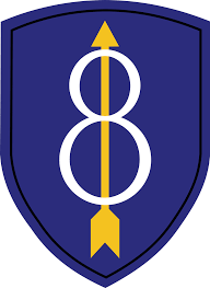 Arrow Of Light Patch 8th Infantry Division United States Wikipedia