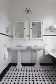 bathroom tile ideas black and white 25 black and white bathroom tiles ideas and pictures