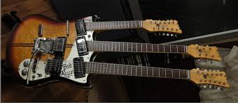 the unique guitar blog double neck guitars