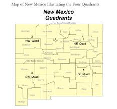 4 Corner States Map by New Mexico Public Land Survey System Plss Finder Nm Rgis