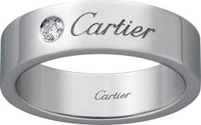 cartier platinum rings images Crb4210200 c de cartier wedding ring platinum diamond cartier png