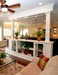 kitchen sitting room ideas enchanting kitchen living room divider with best 25 load bearing