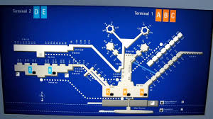 Map Of Frankfurt Germany by Frankfurt Germany Airport Map Mov Youtube