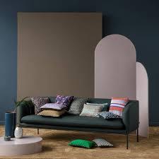 Gold Bed Cushions Ferm Living Cushion Fly Black Gold Textile 40x40cm Lefliving Com