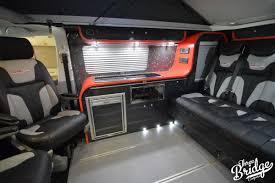 vw transporter t5 t6 conversion camper swb infinity intérieur