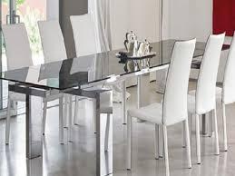 tavoli da sala da pranzo moderno in vetro sala da pranzo tavoli vetro moderna sala da