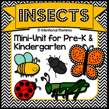 Homeschool Kindergarten Worksheets Insects And Bugs Printable Mini Unit Worksheets For Pre K