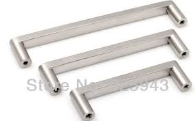 Cabinet Hardware Brushed Nickel by 2pcs 128mm Brushed Nickel Bedroom Furniture Hardware Door Handle