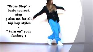 Basic Cross - basic cross easy hip hop lesson toprock by ehaby