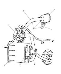 vacuum canister u0026 leak detection pump for 2002 dodge stratus sedan