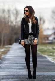 new years shorts how to add sparkle to your fall look shorts black tights and