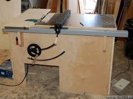 diy table saw stand with wheels how to make a table saw ibuildit ca