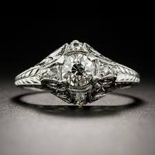 deco engagement ring neoclassical 60 carat diamond deco engagement ring