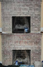 Cleaning Bricks On Fireplace by Taking Paint Off A Brick Fireplace Pt 2 U2014 Salt U0026 Rook