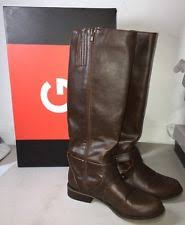 womens size 12 casual boots g by guess hertle brown womens shoes size 12 m boots ebay
