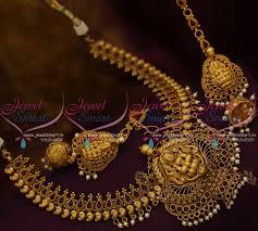 jhumka earrings with chain nl10283 temple jewellery mango design ear chain jhumka earrings