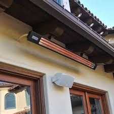 Sunpak Patio Heaters by Infratech Slimline Heaters Quartz Radiant Heaters