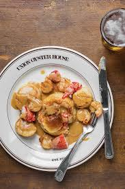 8 Classic Fish And Seafood Sauce Recipes Seafood Newburg Lobster Scallops And Shrimp In Sherry Cream