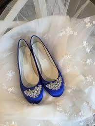 wedding shoes royal blue wedding flat royal blue shoes with brooch royal blue plus 200
