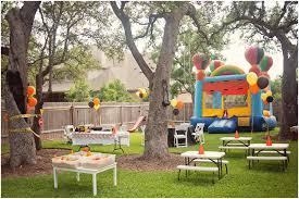 backyards appealing kids backyard party ideas decortaion for