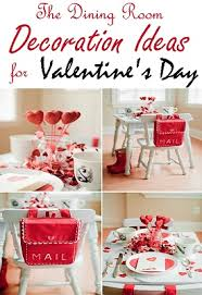 Valentines Day 2016 Room Decor by The Dining Room Decoration Ideas For Valentine U0027s Day Styles Of