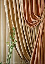 silk curtains to add a touch of luxury to your home