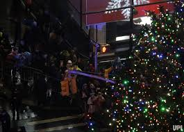 comes to nyc with the annual rockefeller center tree