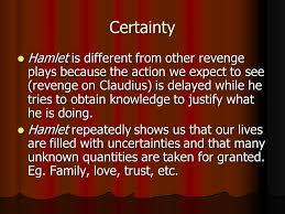 hamlet themes love themes and motifs in hamlet certainty hamlet is different from