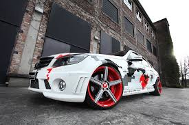 mercedes customized customized mercedes c 63 amg by cchip dkr