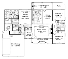 floor plans 2000 square feet home plans homepw13740 2 000 square feet 3 bedroom 2 bathroom