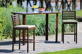 Madison Outdoor Furniture by Ratana 7 Piece Pub Style Outdoor Dining Table And Chair Set