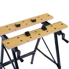 Keter Folding Work Table Bench Mate With 2 Clamps 10 Best Top 10 Best Portable Folding Workbenches In 2017 Reviews